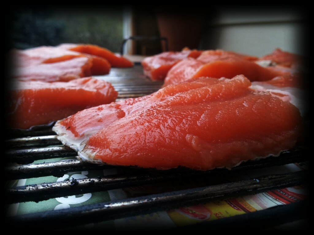 What to do on a rainy day smoked salmon patrons of the pit for Smoke fish brine