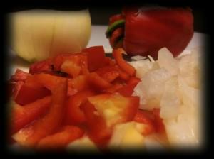Cajun peppers