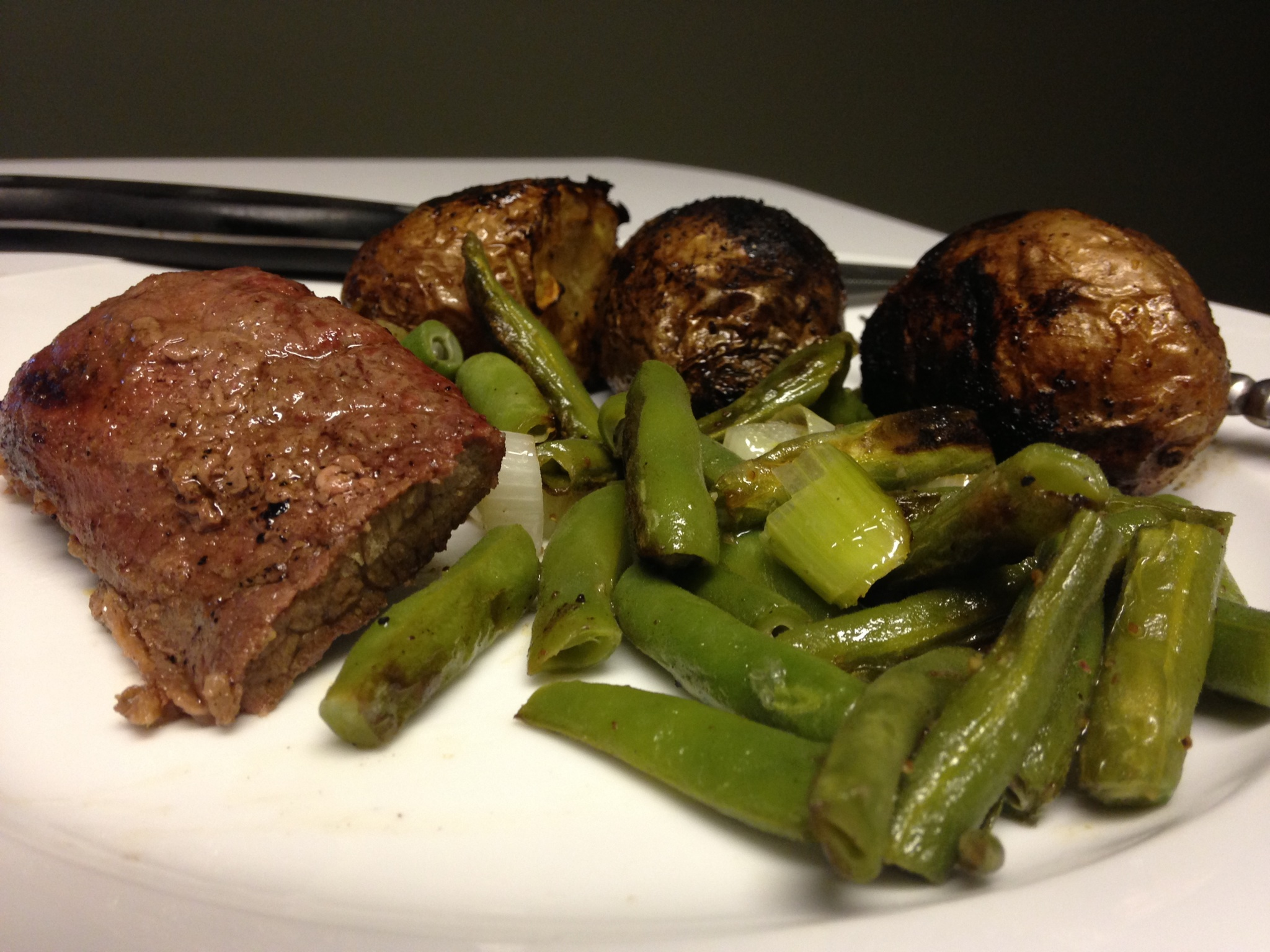 Long Summer Days: Roasted Red Potatoes and Grilled Green Beans ...